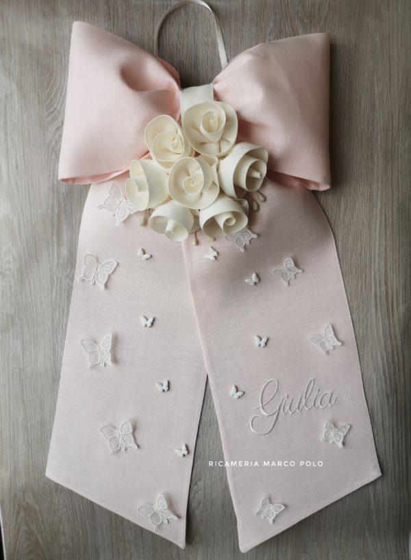Fiocco seven rosa