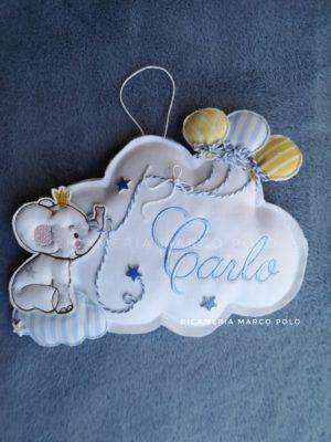 Nuvola elefantino e palloncini
