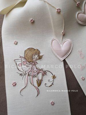 Fatina dei fiori con cuori cipria_dettaglio
